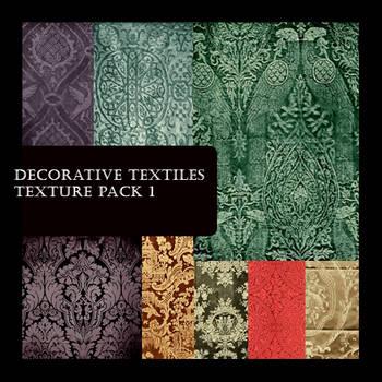 Decorative Textile Pack 1 by FidgetResources