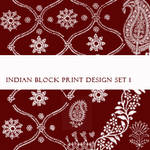 Indian Block Print Brushes No1