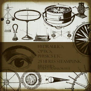 25 Steampunk PS Brushes