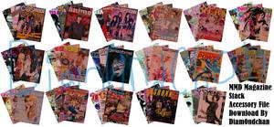 MMD Magazine Stacks Download