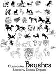 Equestrian Brushes