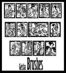 Geisha Brushes