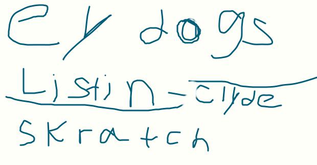 Ey Dog listin by CollinWing