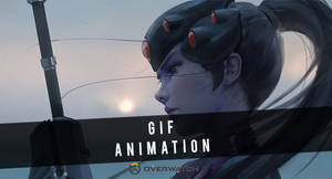 WLOP - Widowmaker Animation by RemoriAnimation
