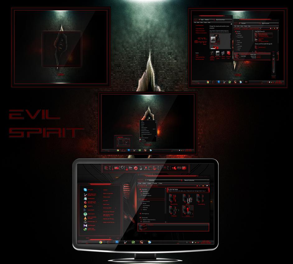 evil spirit by Robin-safuddin