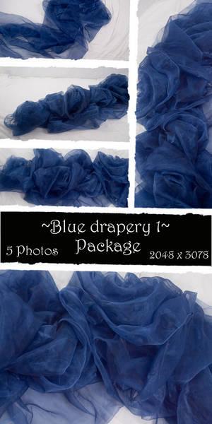 Blue drapery Package 1
