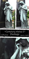 Cemetery statue package 2