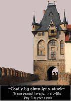 Castle - transparent file by almudena-stock