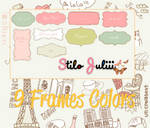 Frame Colors Png's By StiloJuliii