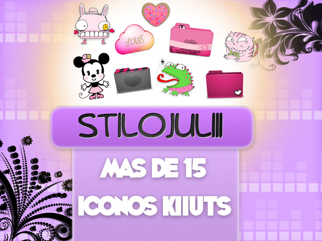 Iconos Kiiuts PNG StiloJuliii by StiloJuliii