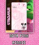 Skins Rainmeter Nota Pink Minnie StiloJuliii