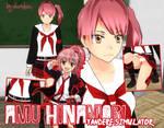 Amu Hinamori Skin for YANDERE SIMULATOR~