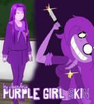 [R]EQ. Purple G. Skin for YANDERE SIMULATOR~