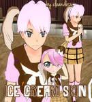 [R]EQ. [W]Ice Cream Skin for YANDERE SIMULATOR~