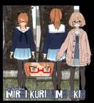 [R]EQ. Mirai Kuriyama Skin for YANDERE SIMULATOR~