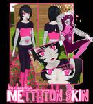 (+600) Mettaton Skin for YANDERE SIMULATOR~ [FREE]