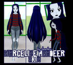 [R]EQ. Marceline Skin for YANDERE SIMULATOR~