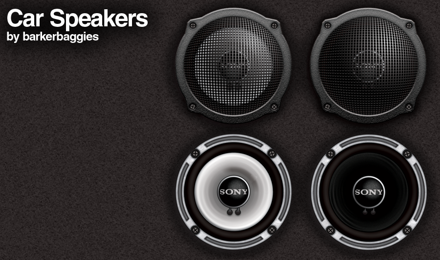 Car Speakers by barkerbaggies