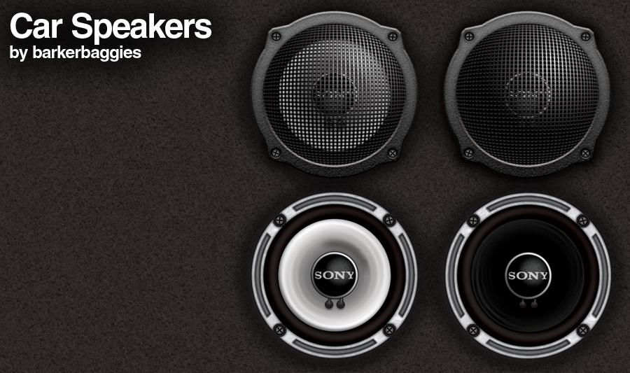 Car Speakers by barkerbaggies