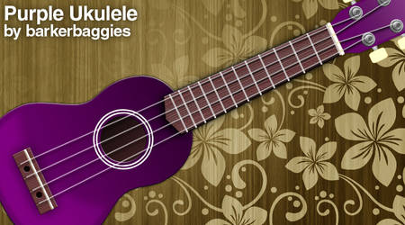 Purple Ukulele