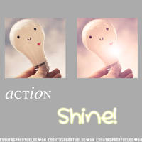 Shine Action by Cosiitasparatublog