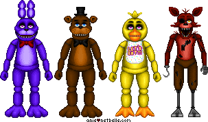Pixel - Five Nights at Freddy's Animatronics