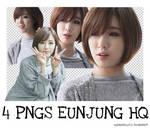 [PNG PACK #3] 4 PNGS EUNJUNG (T-ARA)
