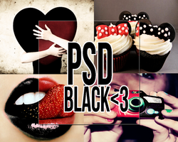 ~...PSD Black by BlazMuffin