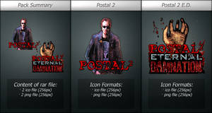 Postal 2 Icons Pack-1