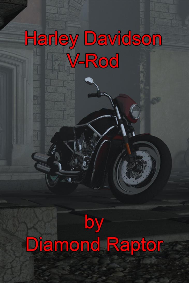 HD V-Rod (Free Model) by RissingFlower