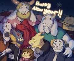 Happy 2016! by Flipgang