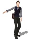 Blaine Anderson 2.0 MMD model DL by XxMinishaxX