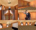 Dalton Choir Room model by XxMinishaxX