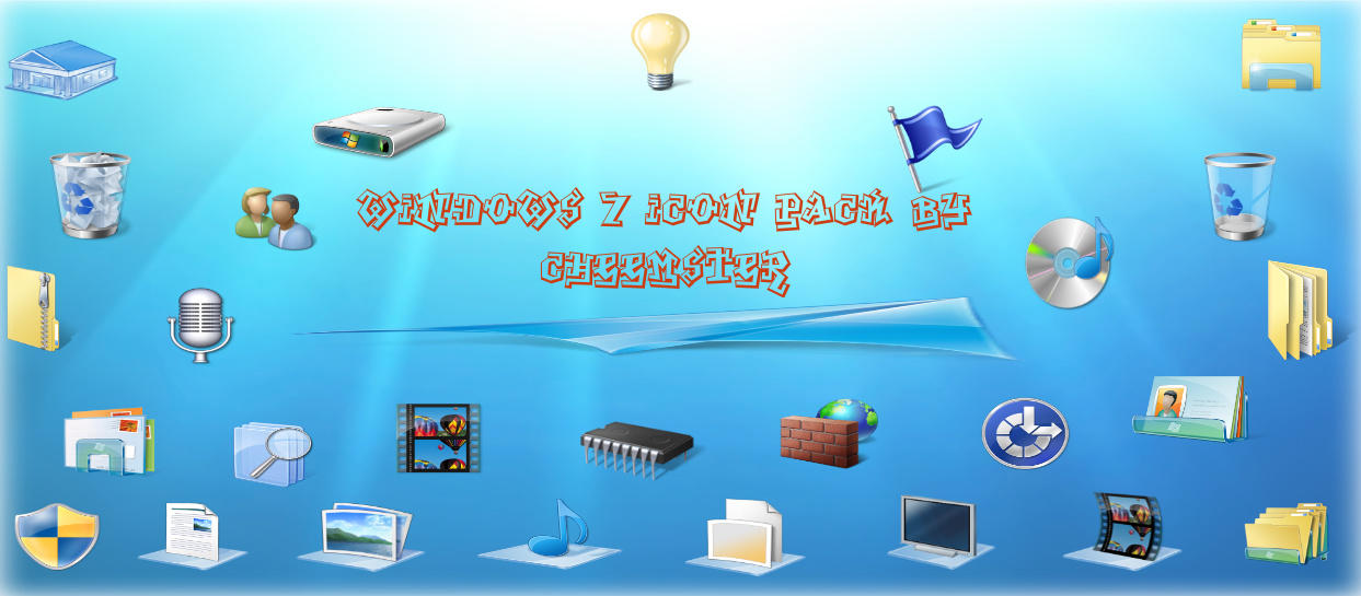 Windows 7 Iconpack V2 By Cheemster Deviantart – Desenhos Para Colorir