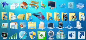 Windows 7 Beta - 537 Icons