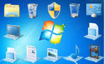 Windows 7 Ultimate OEM Icons