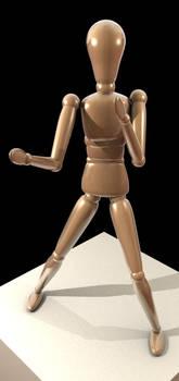 Blender Art Mannequin