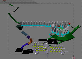 Rube goldberg machine by JAXMP