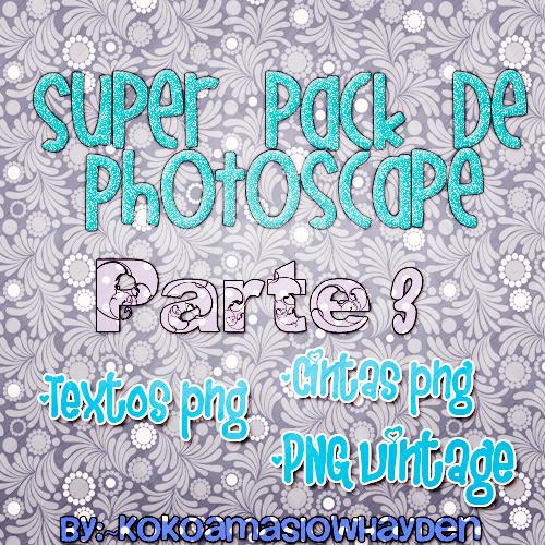 +Pack de Photoscape Parte 3 by KokoaMaslowHayden