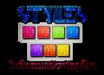 +Styles Glitter.