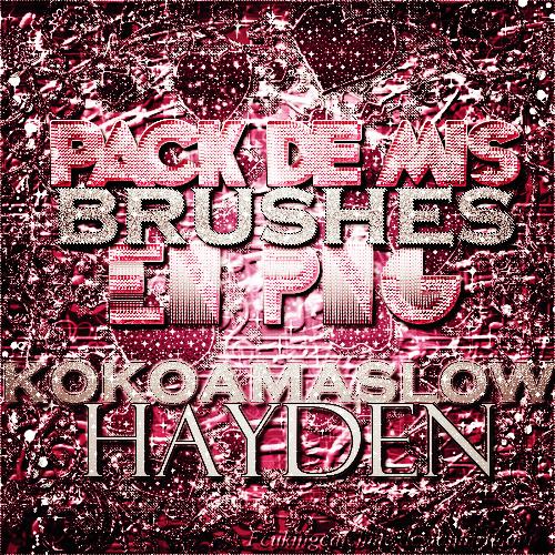 Pack De Brushes by KokoaMaslowHayden