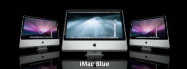 iMac New Aurora Ocean Blue by wvheeswijk