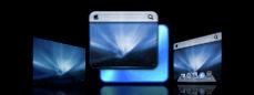 Leopard Server Blue Icons,etc