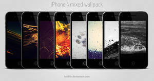 iPhone 4 Mixed Wallpack