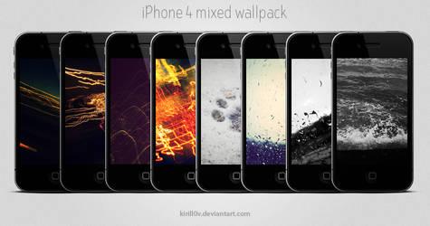 iPhone 4 Mixed Wallpack