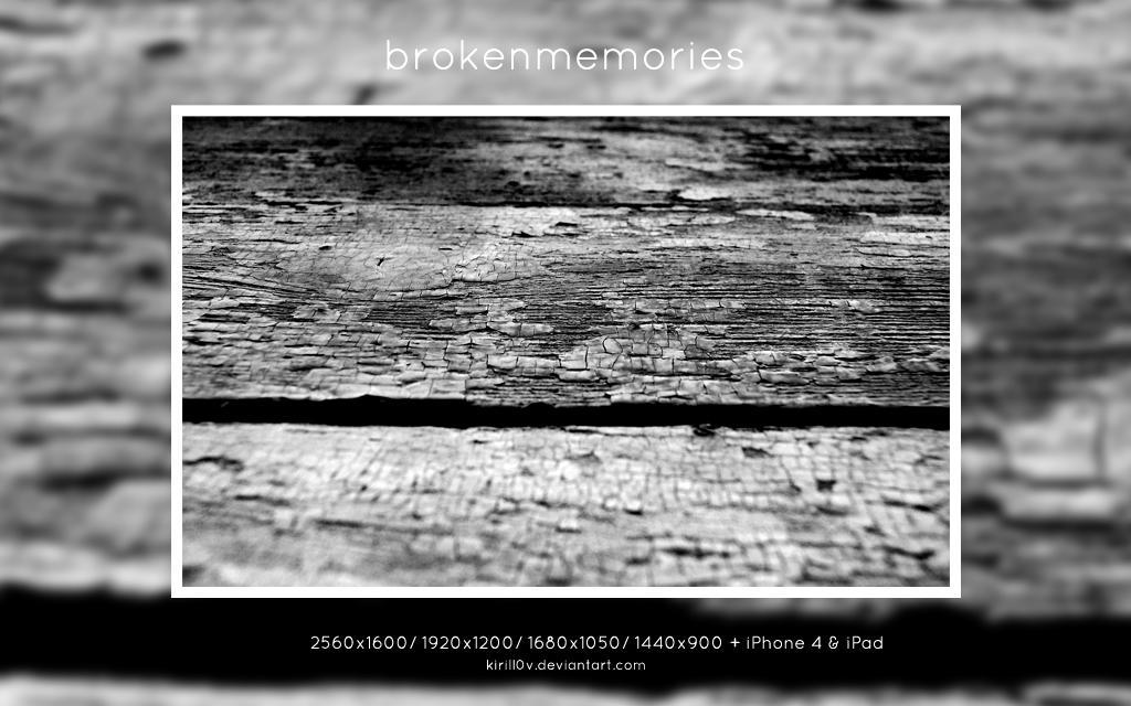Brokenmemories by kirill0v