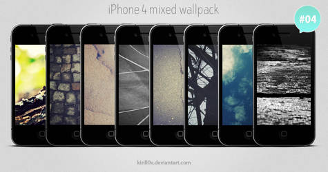 iPhone 4 Mixed Wallpack 04 by kirill0v