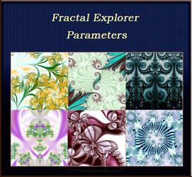 Parameters for Fractal Explorer by semenocatya