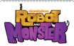 Robot and Monster stamp by Toongirl18