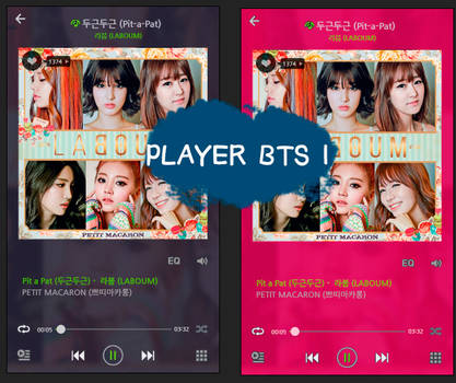 BTS inspired player - Base editable